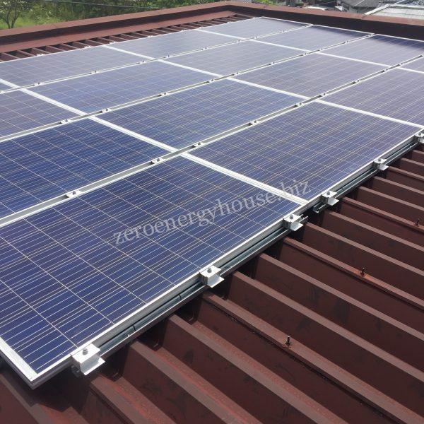カナディアンソーラー戸建太陽光発電パネル