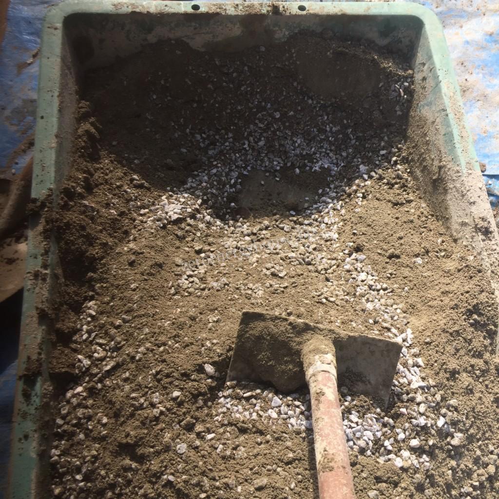 コンクリートの作り方